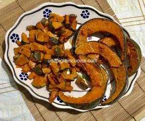 ZUCCA AL FORNO (ricetta light, vegetariana, vegana)