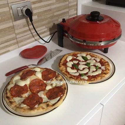Pizza con Fornetto Ferrari