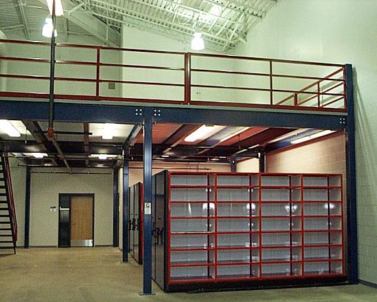 Steel Mezzanines And Work Platforms For Warehouse Storage