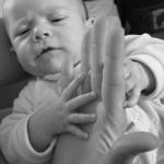 Aydan lorsqu'il était bébé