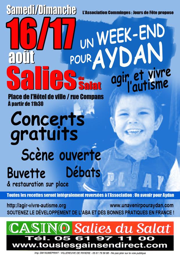 Affiche WE Aydan
