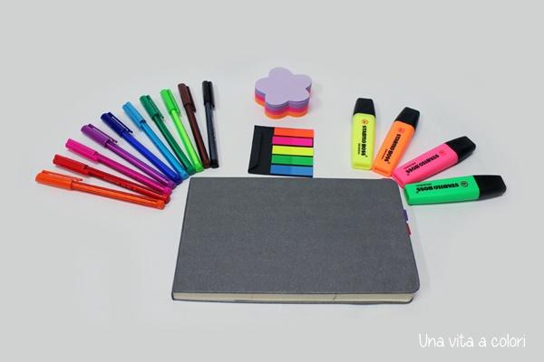 Idee per creare l'agenda o bullet journal personalizzato