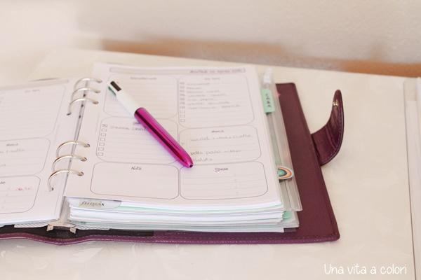Come utilizzare il planner, idee e consigli