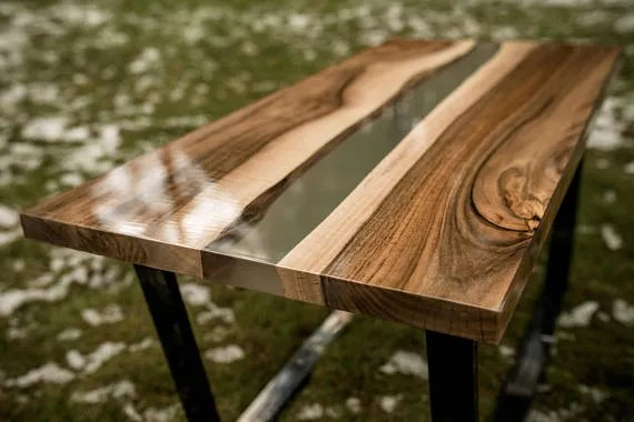 Come Costruire Tavoli E Tavolini In Legno Con Resina