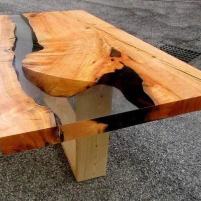 Come costruire tavoli e tavolini in legno con resina epossidica una vita che vale - Costruire tavolo in legno ...
