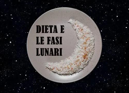 dieta e fari lunari dieta lupo della luna calante crescente luna piena luna nuova