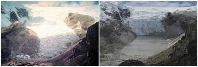 Qori Kalis Glacier