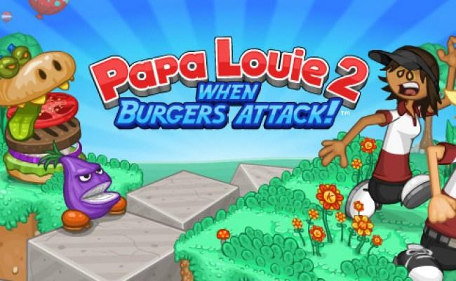 Papa Louie Burgeria 2 When Burgers Attack Unblocked