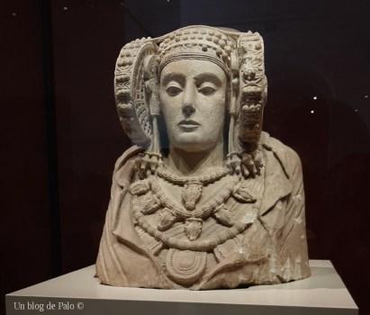 Dama de Elche en el Museo Arqueológico Nacional