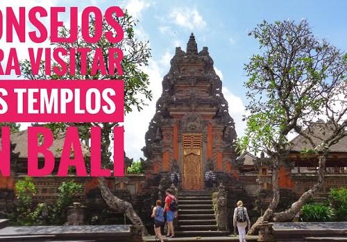 Consejos para visitar los templos de Bali