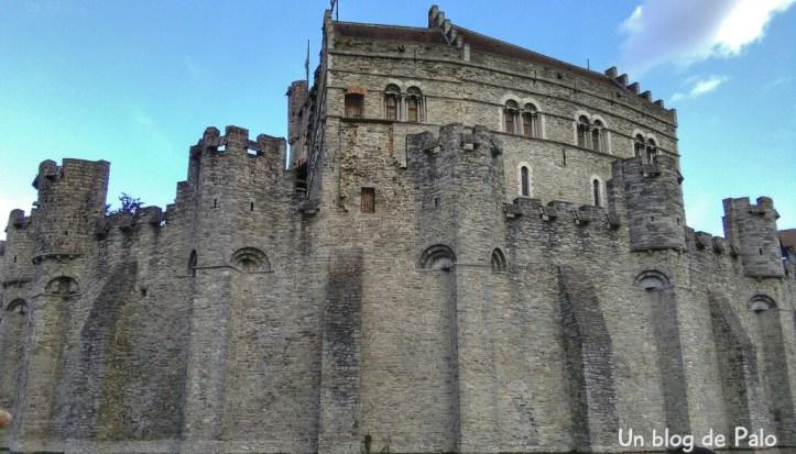 castillo condes de flandes en gante