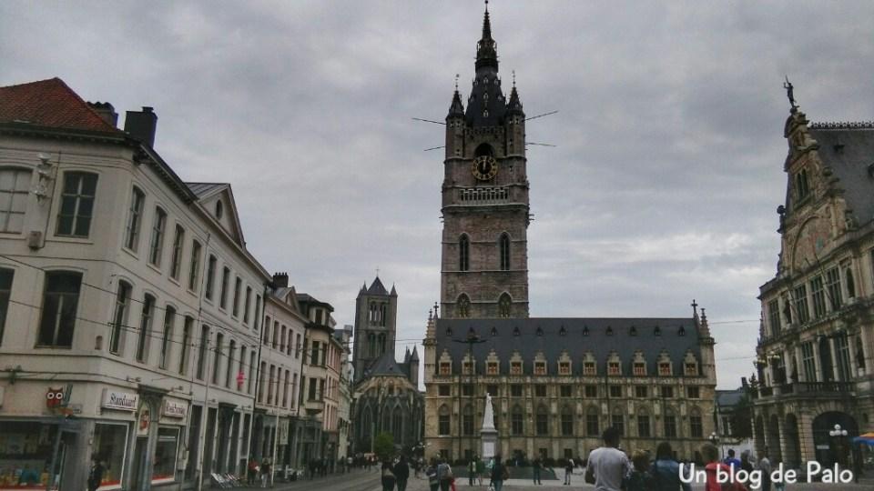 Plaza de la Catedral de Gante