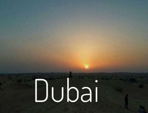 Experiencias diferentes en Dubai