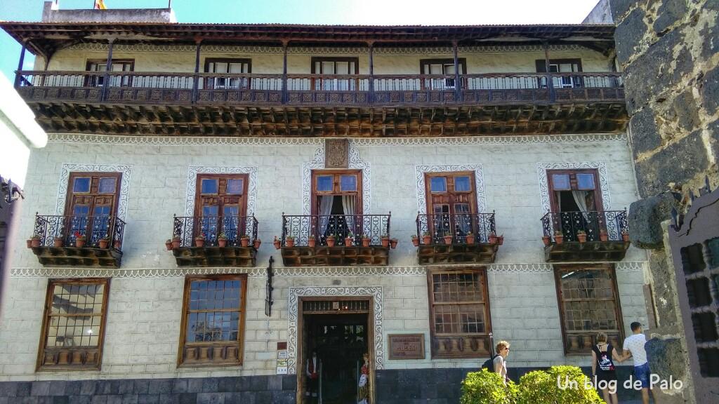 Casa de los balcones en La Orotava