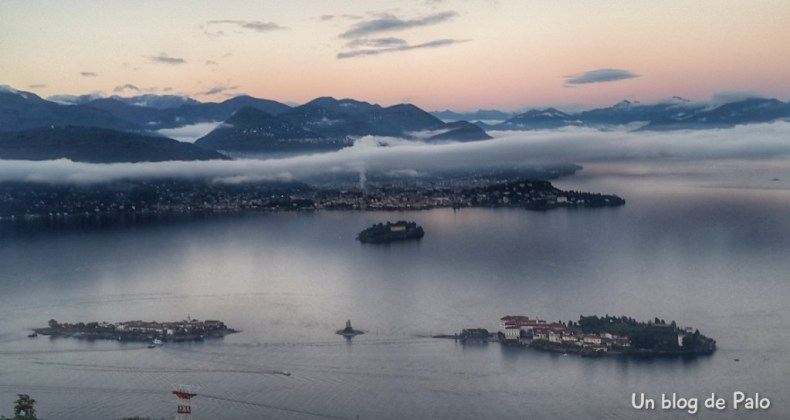 Las espectaculares vistas del Lago Maggiore
