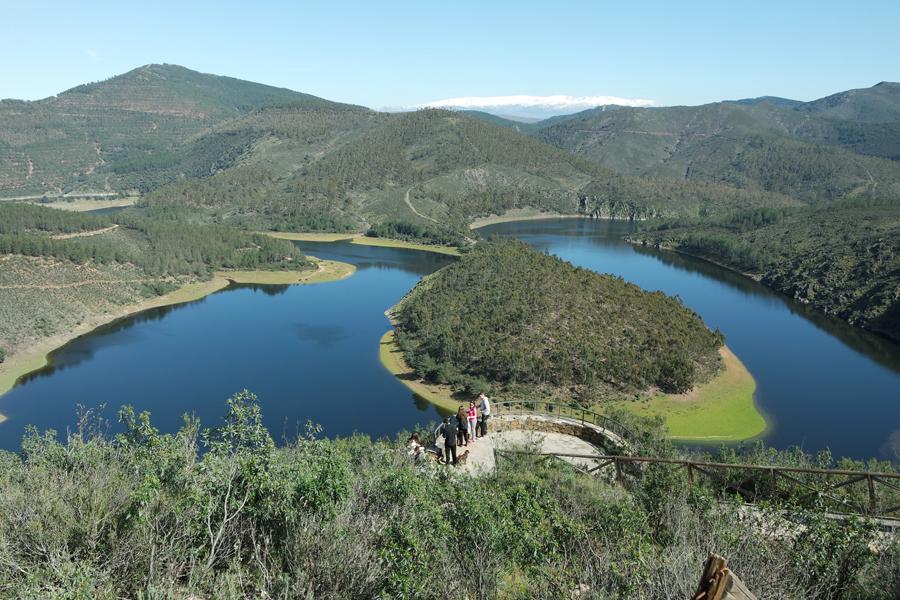 Meandro de Melero, Foto: Rutas por España