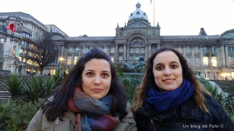 Palo y Miriam en Birmingham