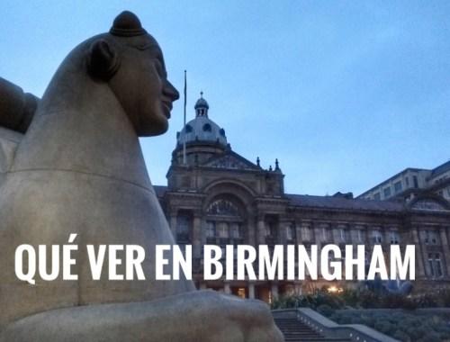 Birmingham en un fin de semana