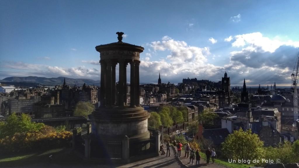 Las mejores vistas de Edimburgo desde Calton Hill