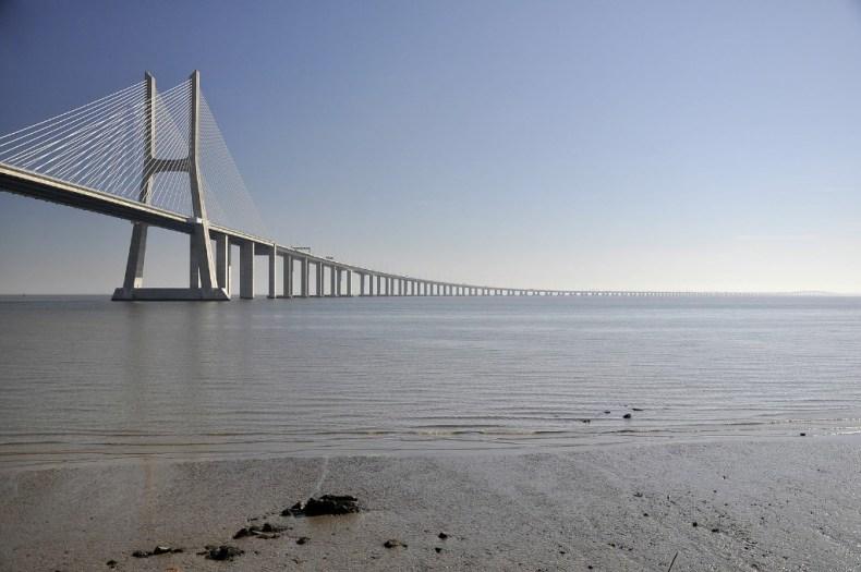 Puentes de Vasco da Gama en Lisboa. Foto: Wikimedia // Paul Hermans // CC BY-SA 3.0