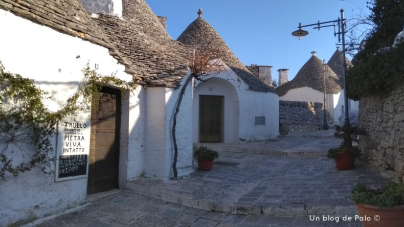 Alberobello y sus trullli