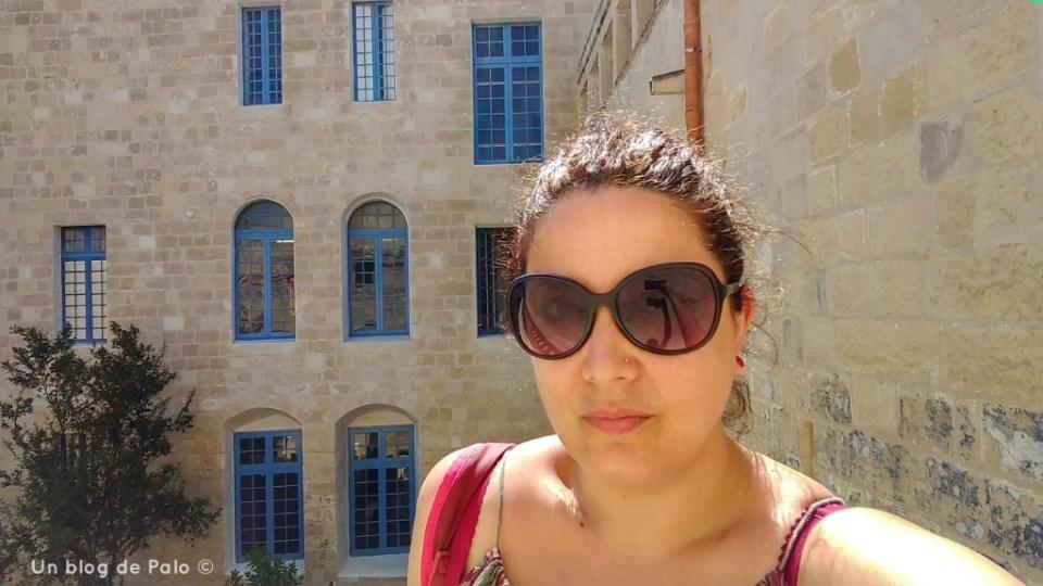 Patio del Palacio del Inquisidor en Vittoriosa