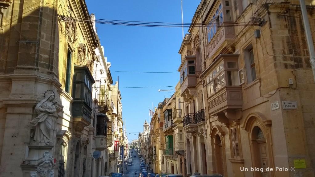Calles de Senglea en Malta