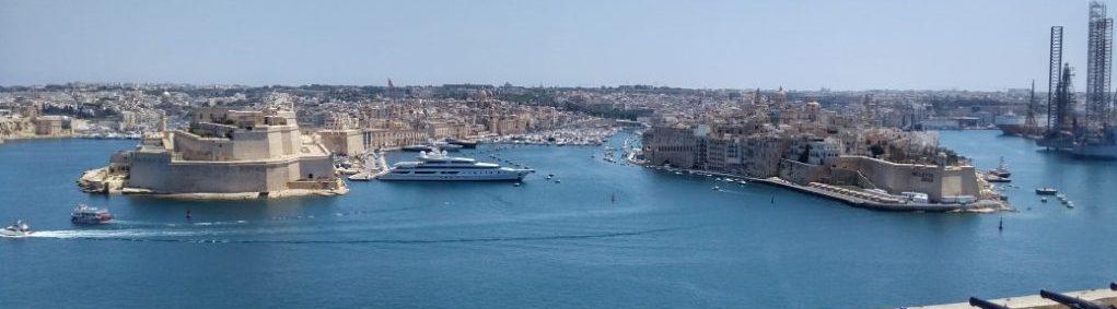 El Gran Puerto de La Valeta y las Tres Ciudades
