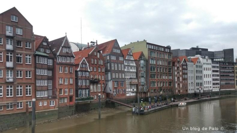 Zona más antigua y centro histórico de Hamburgo