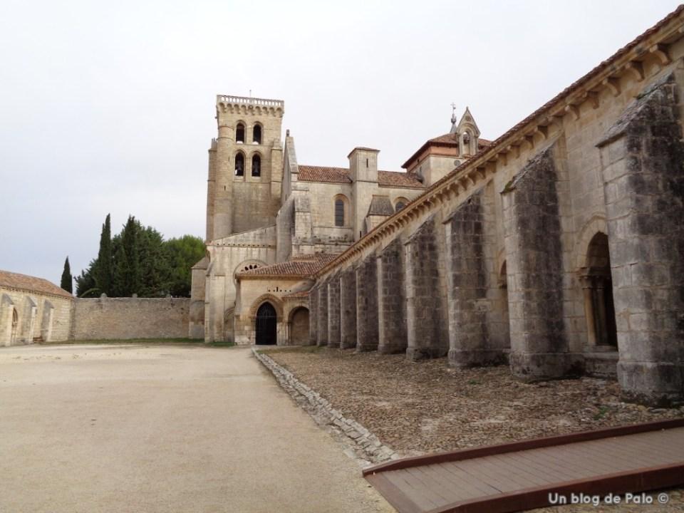 Exterior del Monasterio de Huelgas