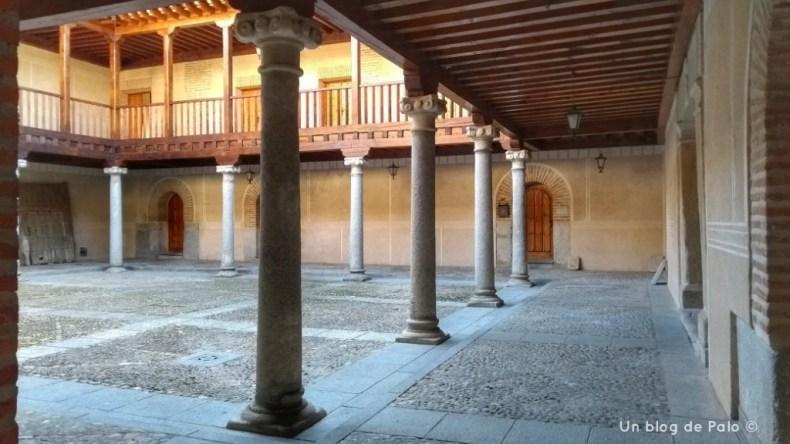 Interior del Real Hospital de la Purísima Concepción en Madrigal de las Altas Torres