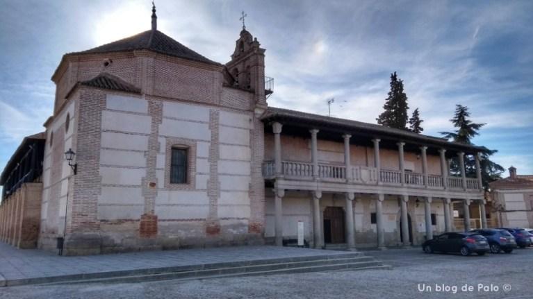 Exterior del Hospital Madrigal de las Altas Torres