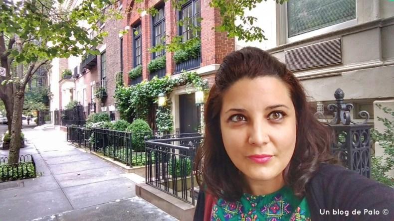 Palo paseando por el Upper East Side