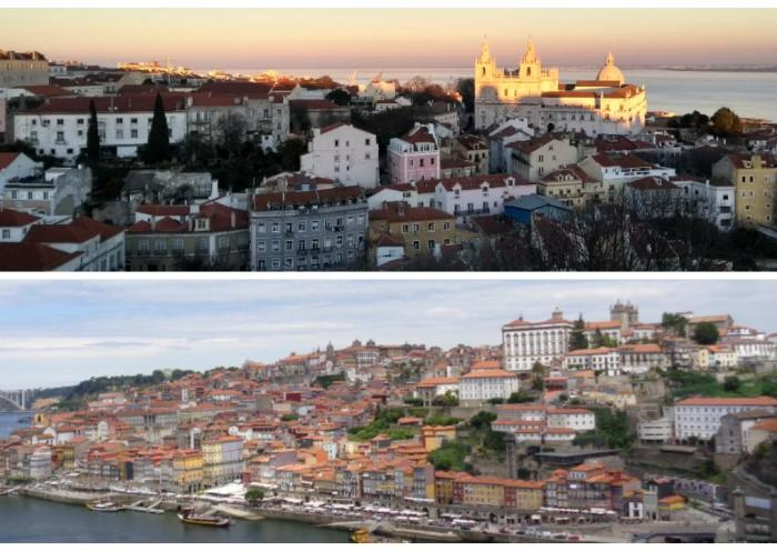 Oporto o Lisboa cuál elegir