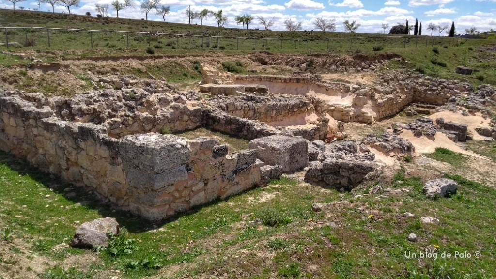 Zona extramuros de Segóbriga
