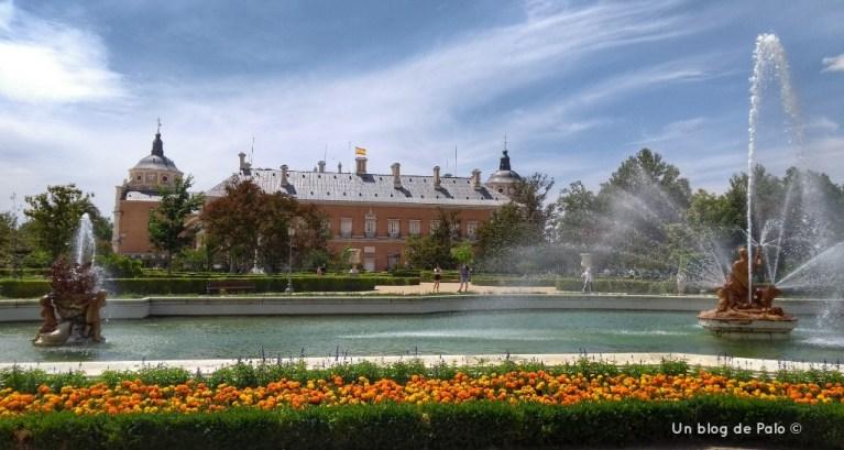 Jardín del Parterre en Aranjuez