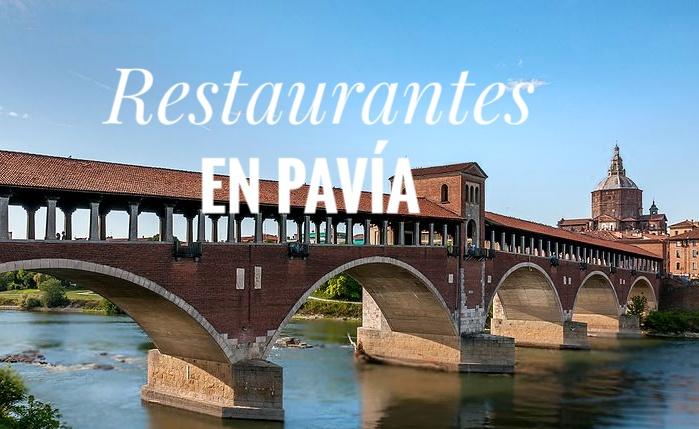 Dónde comer en Pavía: restaurantes, pizzerias y aperitivo