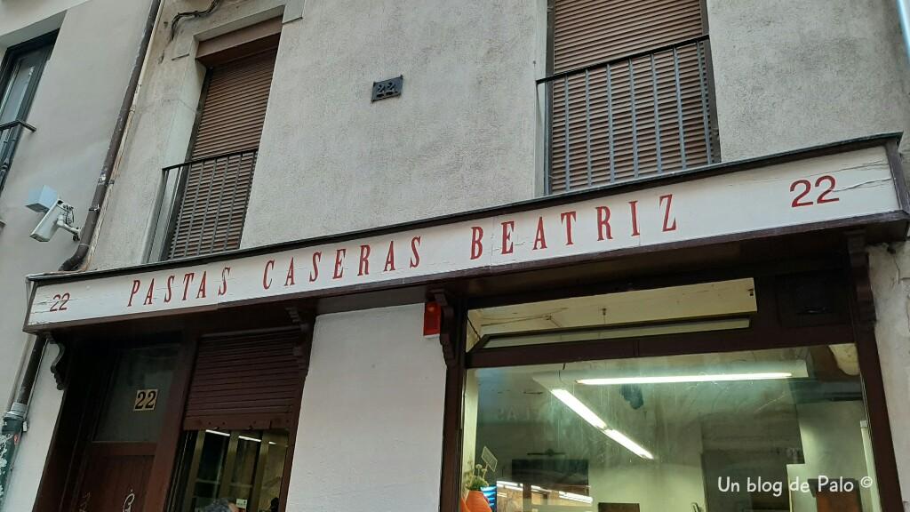 Pastas Beatriz en Pamplona