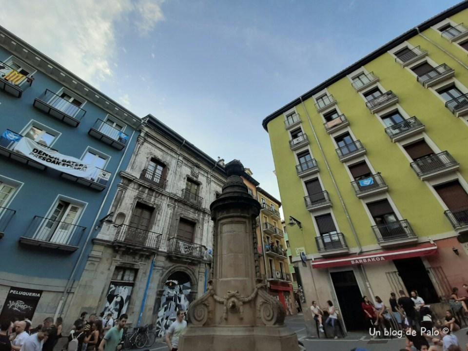 Fuente de la Navarrería en Pamplona