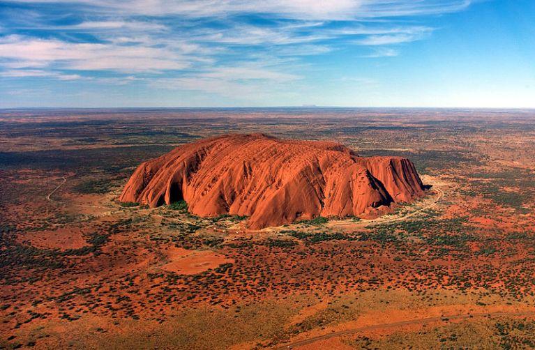 Vistas del Uluru Park