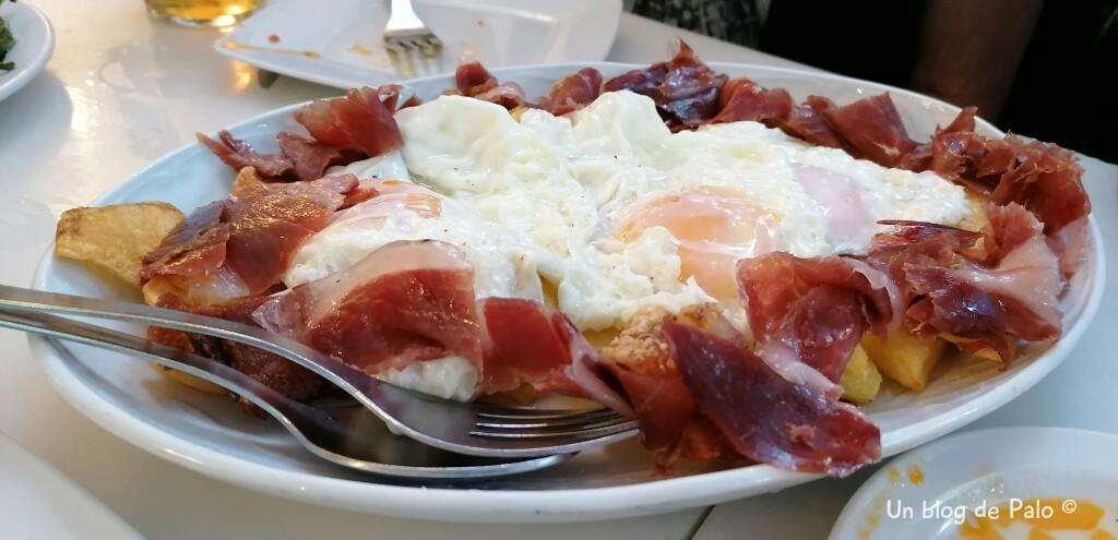 Huevos rotos en Madrid