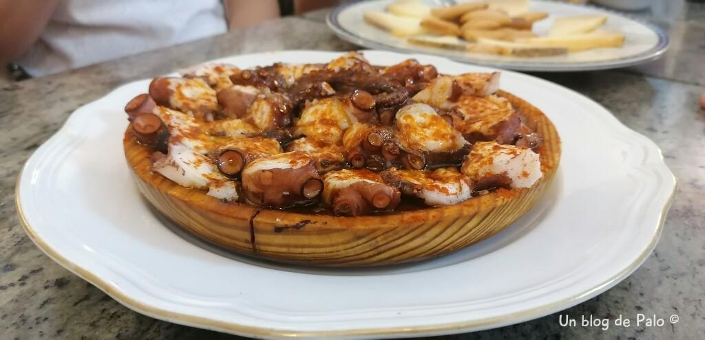 Pulpo a la gallega en Madrid