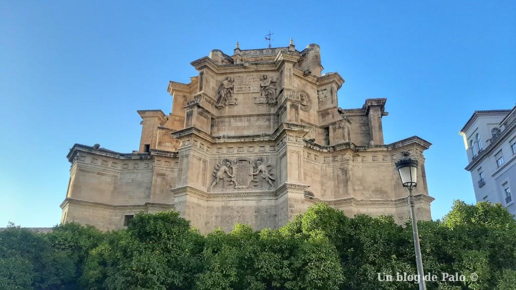 Exterior de la Iglesia del Monasterio de San Jerónimo en Granada