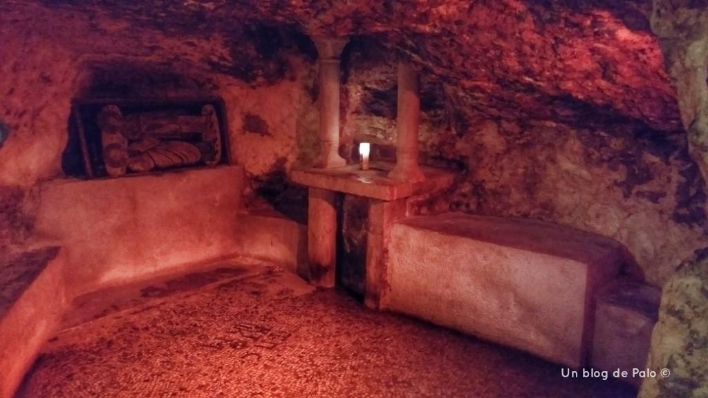 Lugar de nacimiento de la Virgen en Jerusalén