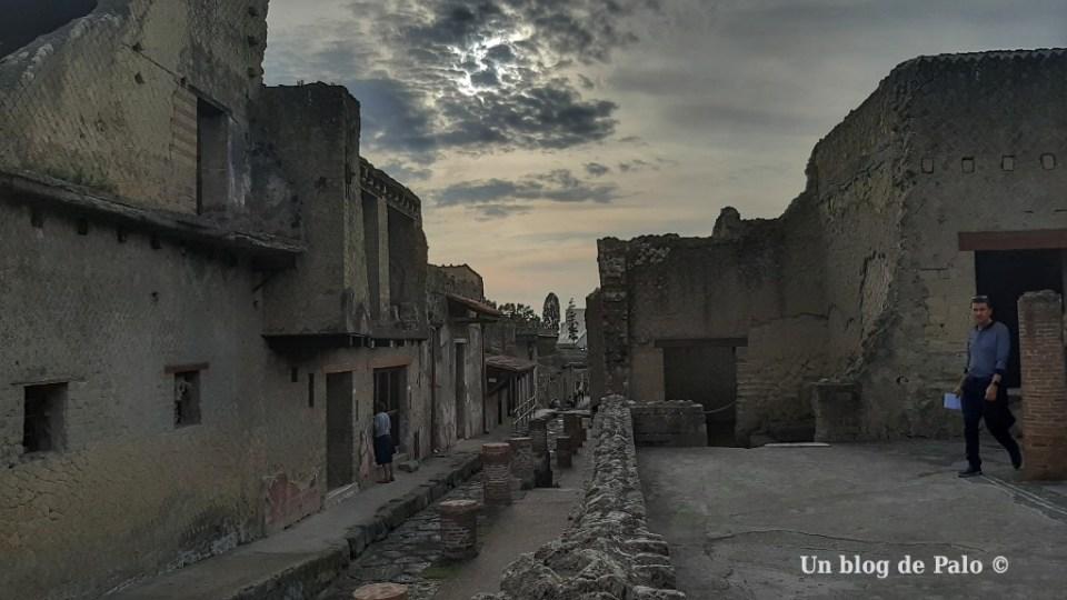 Atardecer en Herculano