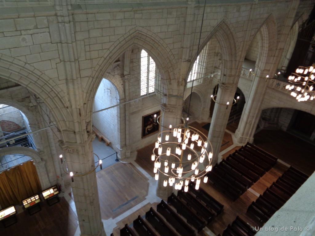 Interior de la Catedral de Vitoria