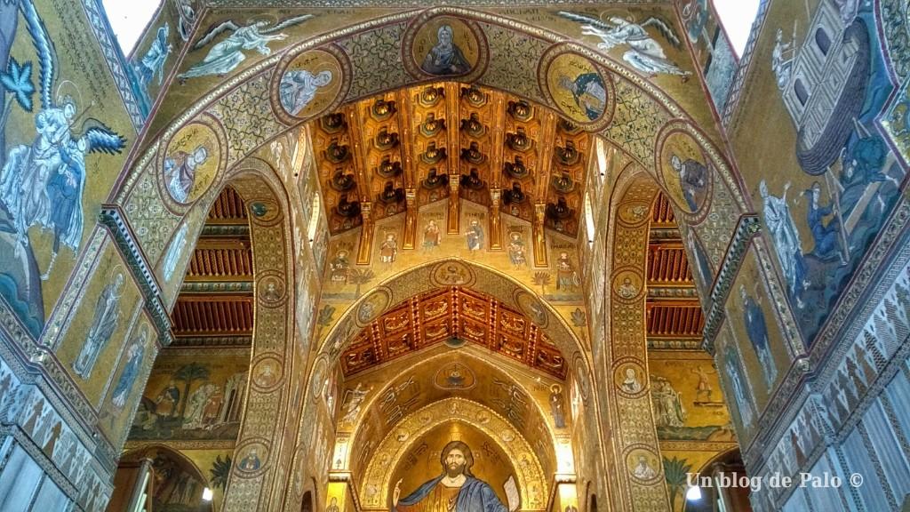 Interior de la catedral de Monreale