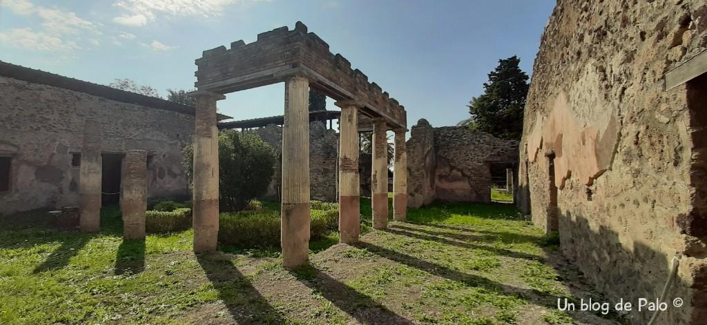 Villa en Pompeya
