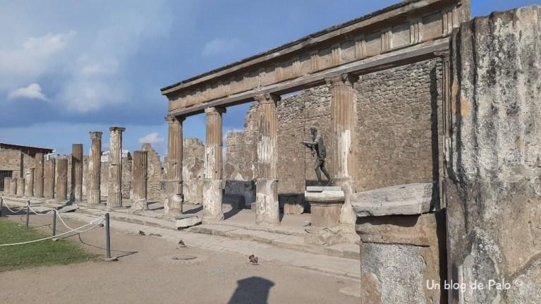 Templo de Apolo en Pompeya