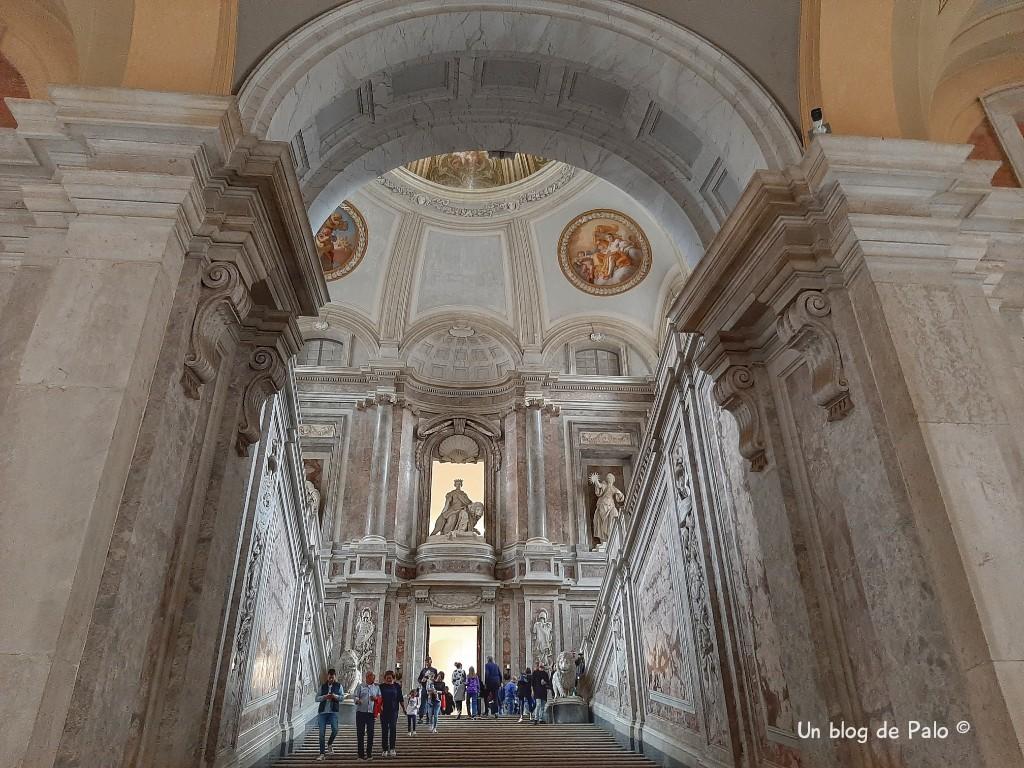 Escalera del Palacio Reggia di Caserta